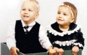 Ваня и Даша Скоробогатовы